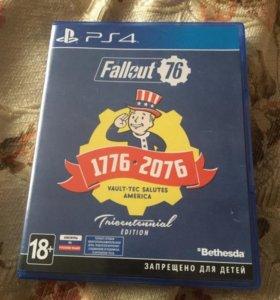 Игра fallout 76 на Ps4