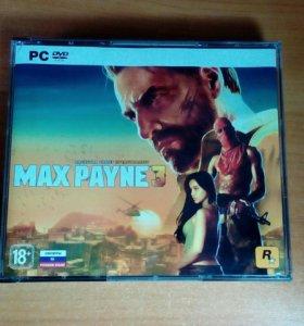 Диск с игрой Max Payne 3
