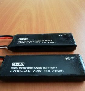 Оригинальные LiPo аккумуляторы для hubsan h501