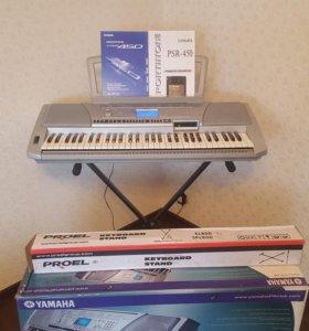 Синтезатор Yamaha PSR-450