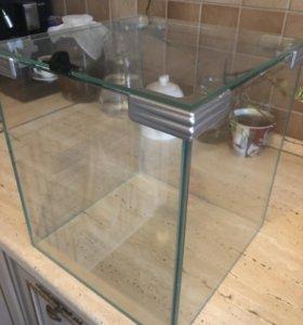 Аквариум кубик на 30 литров
