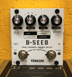 Yerasov D-seed Dual Channel Digital Delay