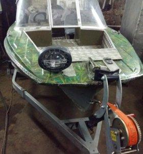 Лодка Казанка и мотор Honda