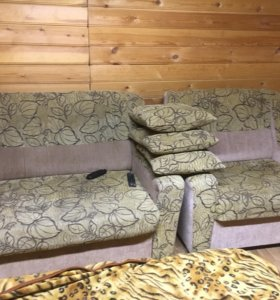 Диван с креслом уют кресло раскладное спальное