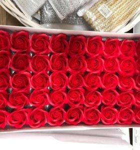 Цветы из мыла / Розы из мыла / Букеты из мыла