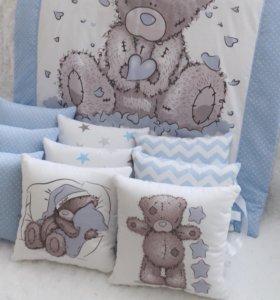 Бортики в кроватку «Тедди»