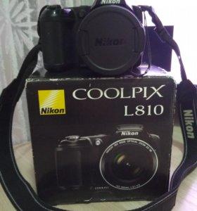 Nikon colpix l810