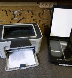 Комплект принтер+сканер