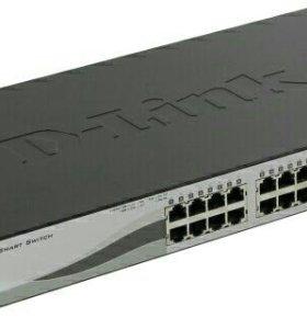 Коммутатор D-Link DES-1210-28P новый