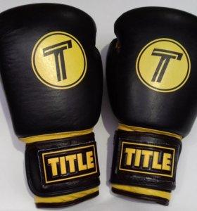 Боксерские перчатки Title арт. 0404