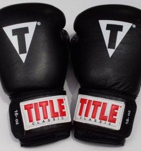 Боксерские перчатки Title арт. 0405