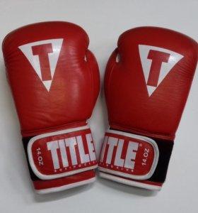 Боксерские перчатки Title арт.1302