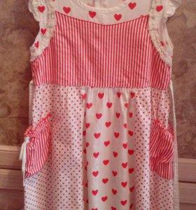 Летнее платье, 6-7 лет