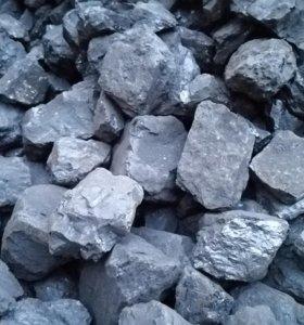 Уголь в мешках