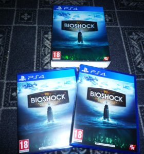 Bioshock collection - PS4 Playstation 4