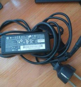 Оригинальное зарядное устройство на ноутбук hp