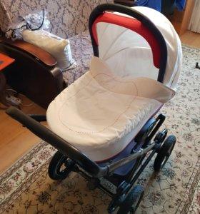 Детская классическая коляска Navington Caravel 2в1