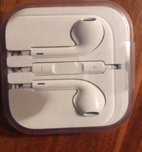 Гарнитура для телефона iPhone SE наушники EarPods
