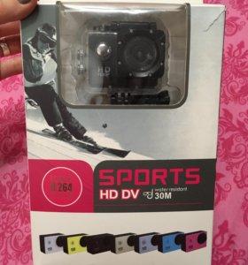 НОВАЯ экшн Камера sports HD