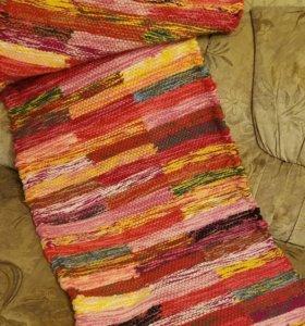 Самотканная накидка на диван