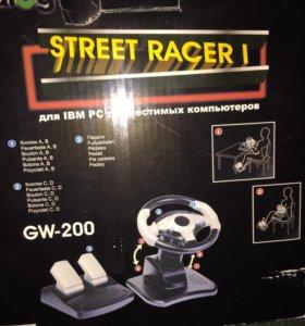 Руль компьютерный dialog GW-200