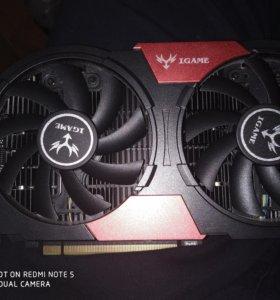 Видеокарта Nvidia gtx1050ti 4gb