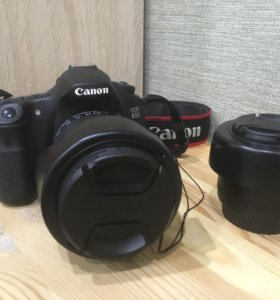 Комплект Canon EOS 60D 18-135mm + 50mm 1.8