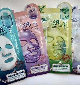 Тканевые маски Elizavecca (Корея)
