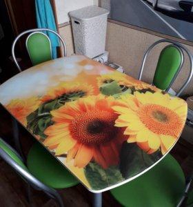 Стол обеденный,стулья