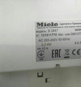 Паровая гладильная система Miele B 2847