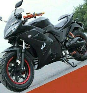 Мотоцикл на электричестве yk-xz-dpx-1-14-12-60v20a