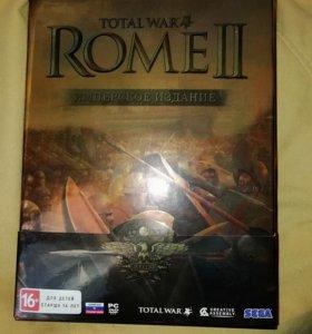 Коллекционное издание на PC Total war ROME 2