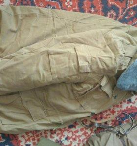 Зимний бушлат брюки