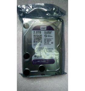 Новый жесткий диск 2ТБ