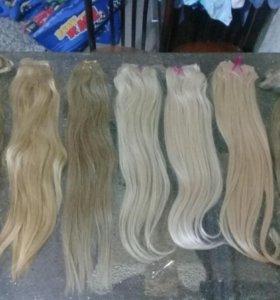 Волосы натуральные для всех видов наращивания