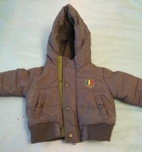 Куртка на 3-6 месяцев осень-весна