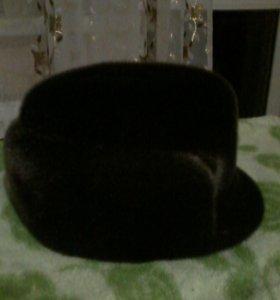 шапка из нерпы мужская новая