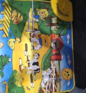 Музыкальный коврик веселая ферма