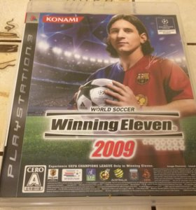 🇯🇵 [PS3] World Soccer Winning Eleven 2009 (JP)