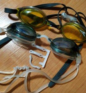 Очки для плавания стартовые и для тренировки