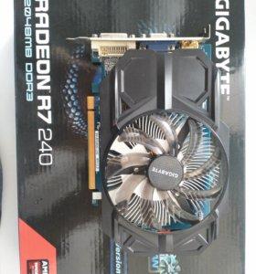 Видеокарта Radeon r7 240 2gb