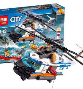 02068 Lepin Сверхмощный спасательный вертолёт