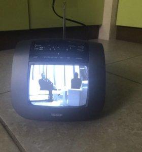 Видеокамера, телевизор