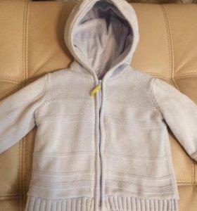 Теплая кофта р.86 Mothercare