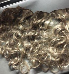 Искусственные пряди (волосы на заколках)