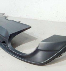 Юбка спойлер бампера заднего AUDI A5 16- б/у 8W6807521BRU6 4*