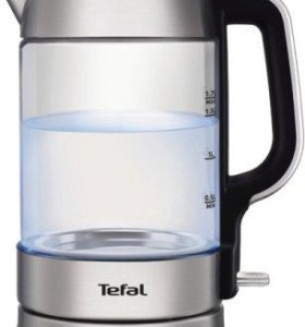 Чайник tefal glass kettle KI770D30