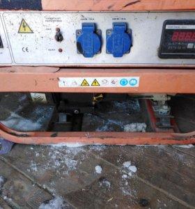 Бензиновый электро генератор 2Квт