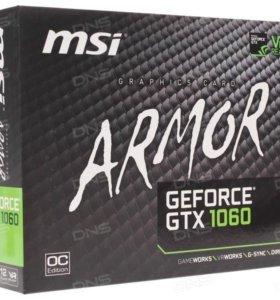 Видеокарта MSI GeForce GTX 1060 ARMOR OC 3G