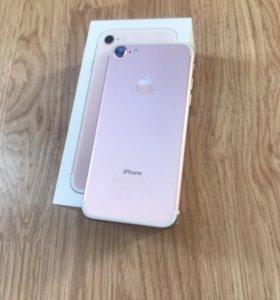 Продам IPhone 7, 128 Gb, Rose Gold